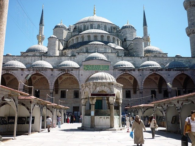 Blue Mosque - Historical mosque in Istanbul