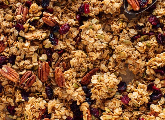 Crunchy Walnut Granola for a Healthy Breakfast