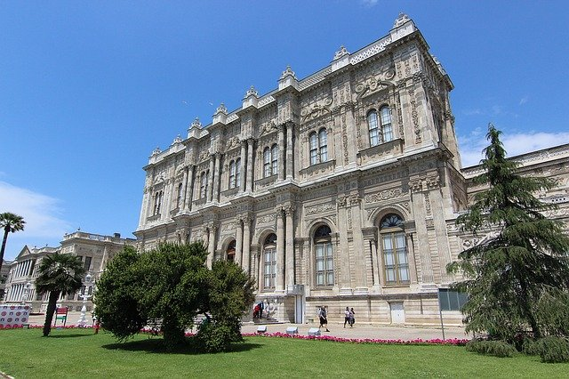 Dolmabahce Palace - Once Sultan's Palace in Istanbul