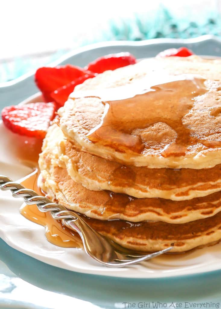 Oatmeal Pancakes for a Healthy Breakfast