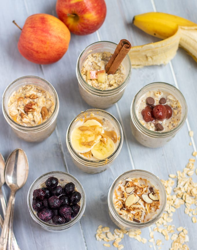 Overnight Oats for a Healthy Breakfast