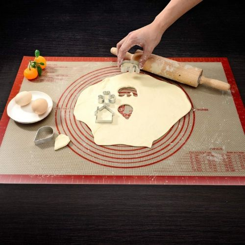 Pizza making non-slip food-grade silicone mat product
