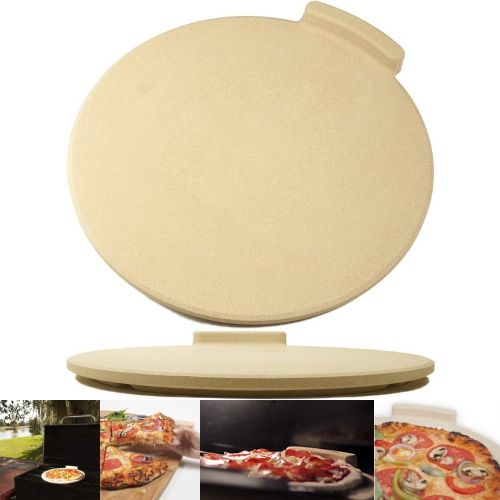 Pizza making stone product for oven and grill
