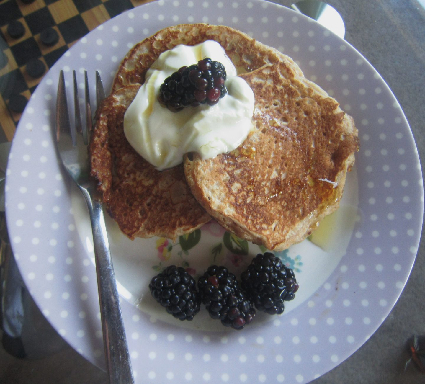 Quark Pancakes for a Healthy Breakfast