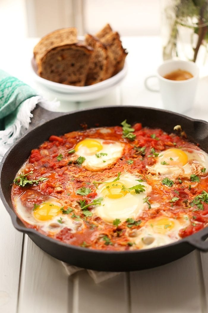 Shakshuka for a Healthy Breakfast