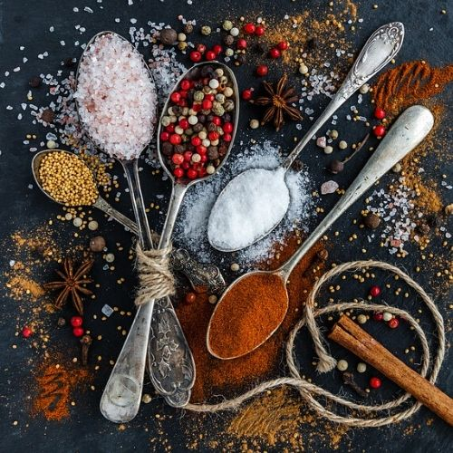 Spices are Healthy Foods for Losing Weight