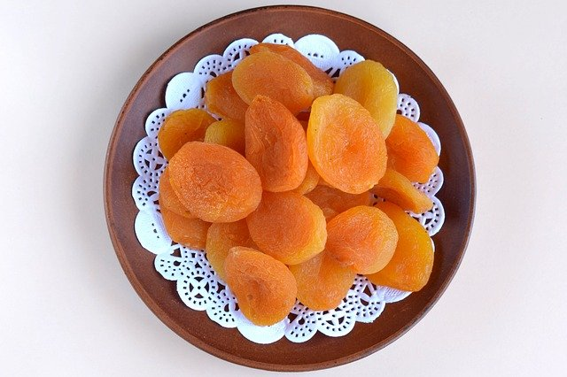 Dried apricots are potassium high food.