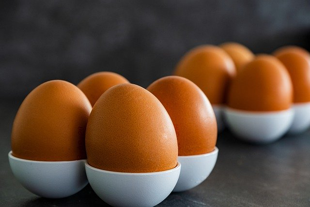 Eggs are very rich in zinc.