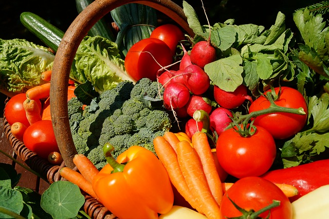Polyphenol content in Vegetables