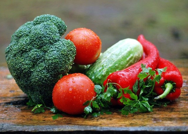 Vegetables with high folate content.