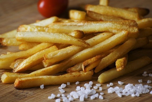 How long to cook french fries