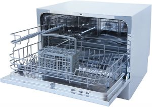 Energy Star Compact Countertop Portable Dishwasher With Delay Start - SPT SD 2225DW