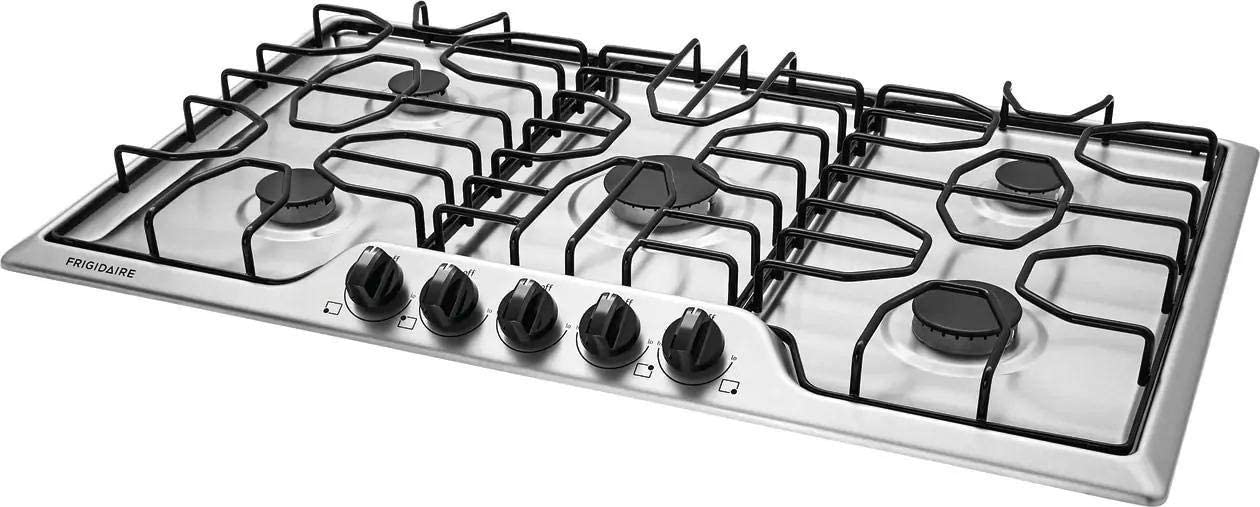 Frigidaire FFGC3612TS 36 ich Gas Cooktop Stainless Steel