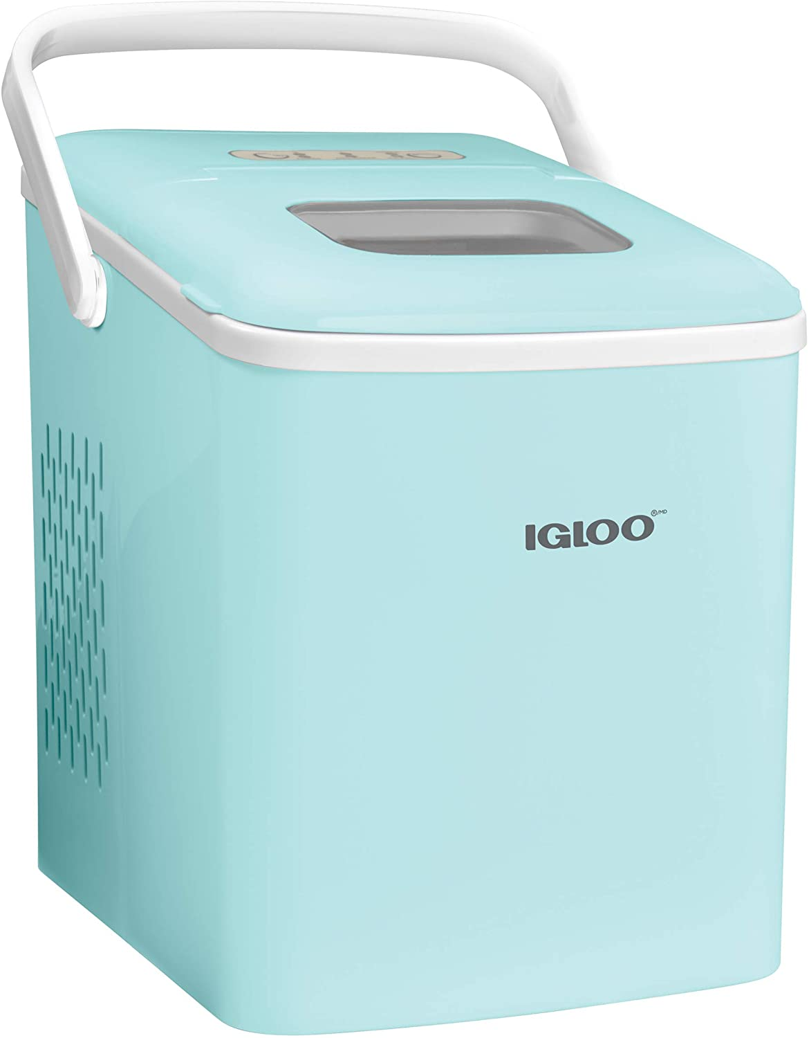 Igloo Automatic With Self-Cleaning Portable Electric Countertop Ice Maker Machine With Handle - ICEB26HNAQ