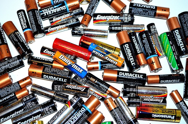 Disposing of old batteries in an environmentally friendly way