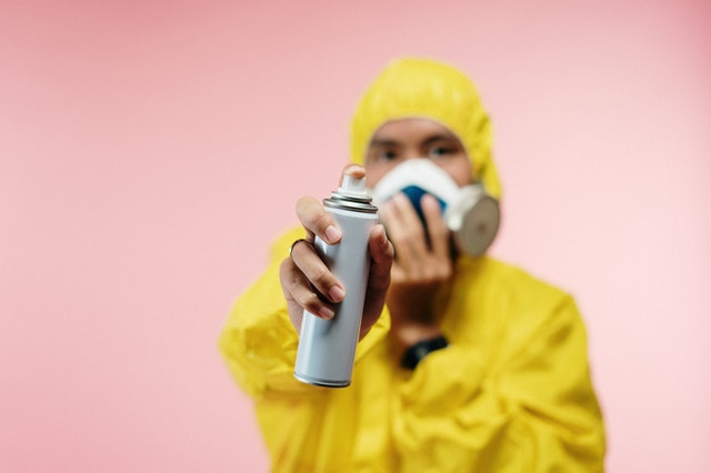 Recycle aerosol spray cans