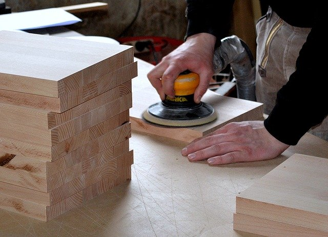 How To Sanding Off Wood