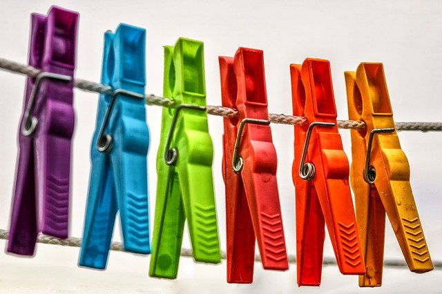 Drying backpacks after hand washing