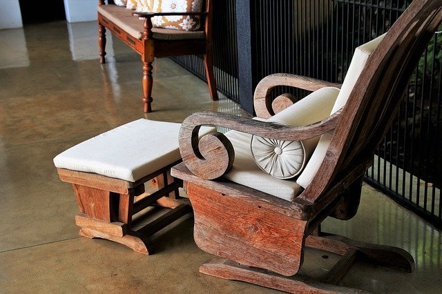 Restoring and reconditioning old furniture in summary explained.